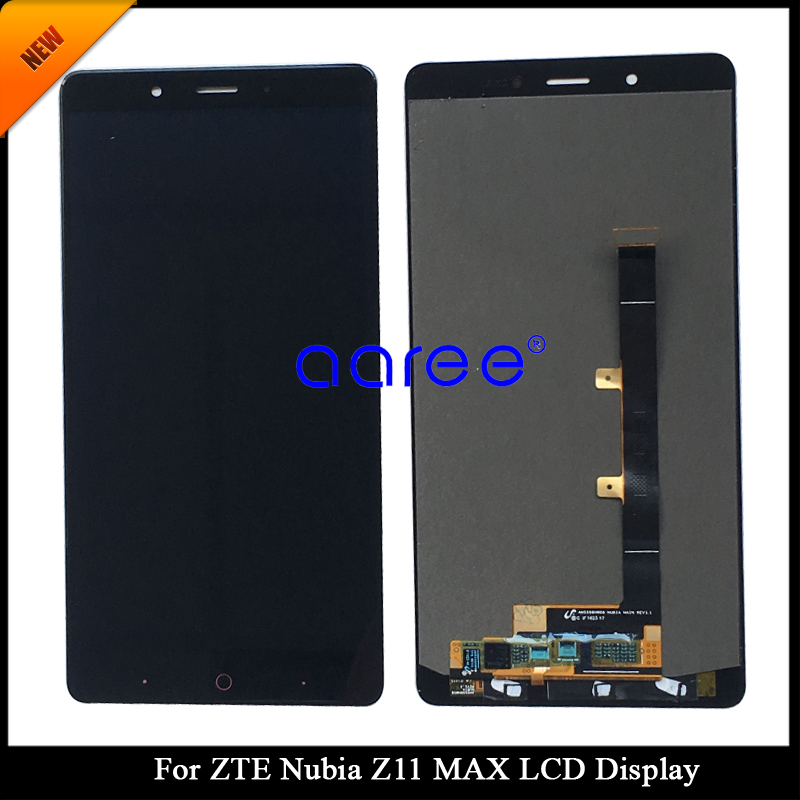 Tracking No 100 tested For ZTE Nubia Z11 MAX LCD For ZTE Nubia NX523J NX535J LCD