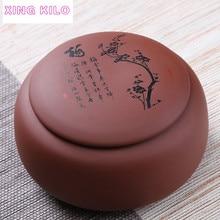 XING большегрузный видеоштатив для большой Чай керамиковая чайница ПУ-эр Чай закупориваемая банка оригинальный мой Чай комплект фиолетовый; песок коробка