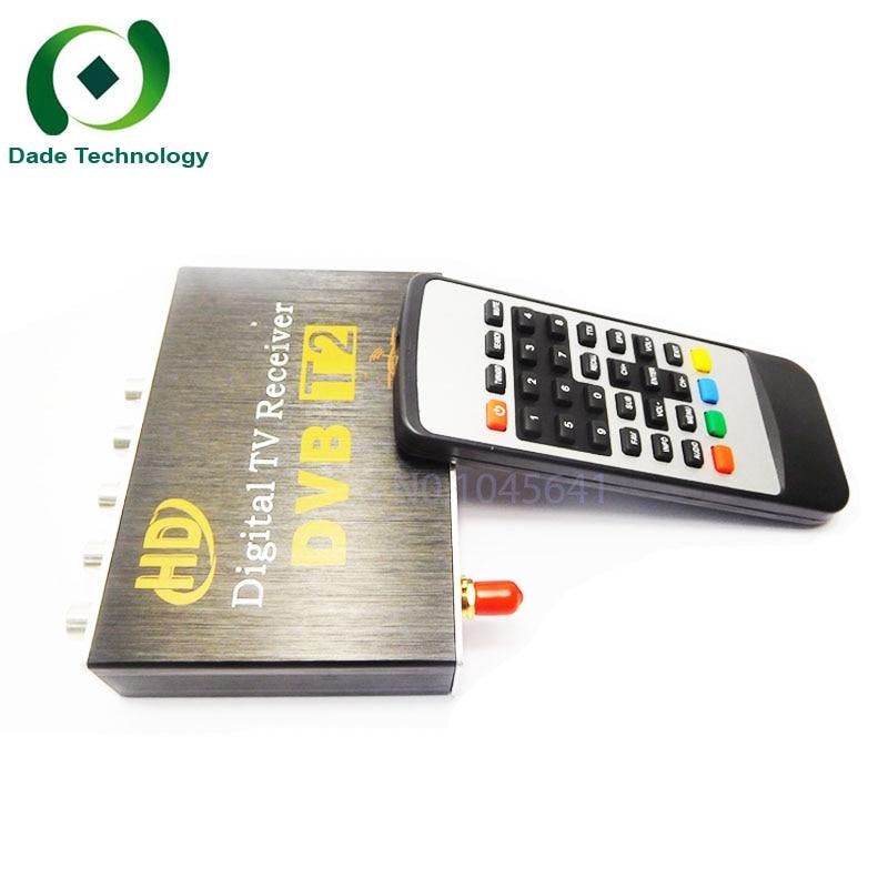 Aycetry H 264 MPEG 2 4 Set top Box 1080P Full HD DVB T2 Digital Terrestrial