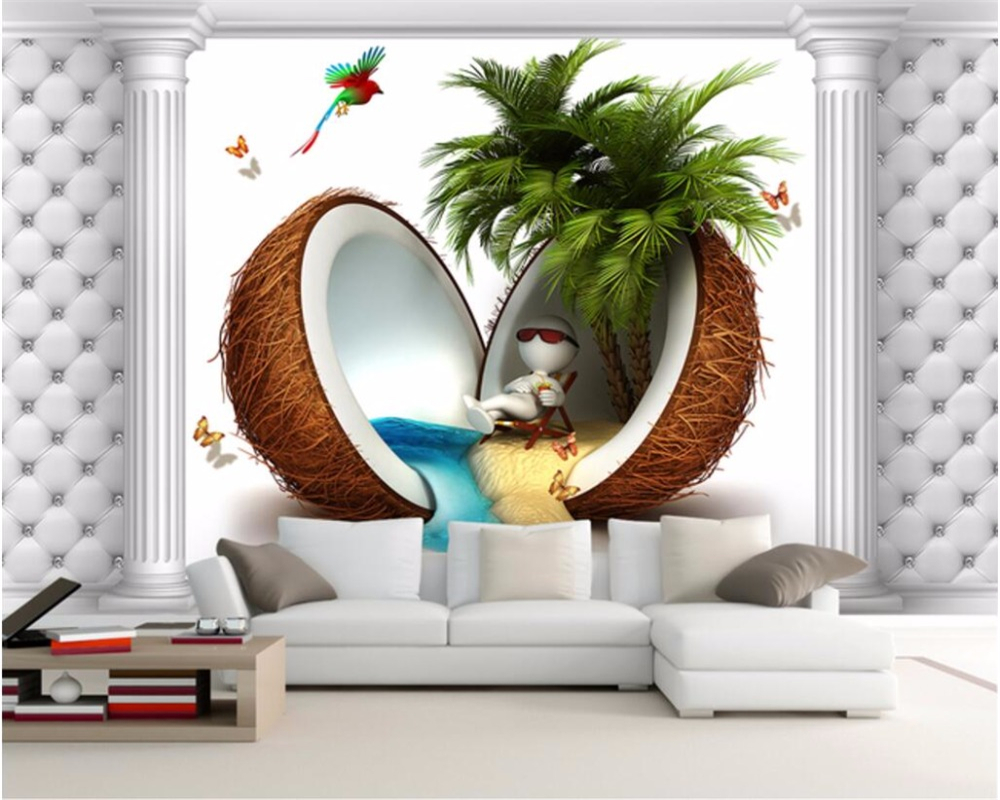 Beibehang Custom Photo Wall Mural 3d Wallpaper Luxury: Beibehang 3D Photo Custom Mural Wallpaper Europe And