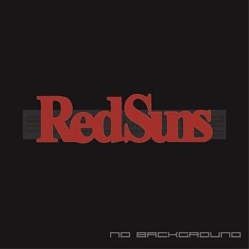 2Pcs RedSuns Stickers Decal Tuning Racing Jdm Initial D Itsuki Takeuchi Red Sun Decal Sticker 18cm