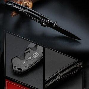 Image 5 - Folding Knife tactical  Survival Knives Hunting Camping Blade edc multi High hardness military survival knife pocket