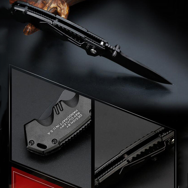 Folding Tactical Knife For Camping & Hunting 5