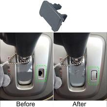 SUNFADA черная/Серебристая зубчатая панель разблокировка карты пряжки автомобильные Чехлы для Honda CR-V CRV 2007- AT автомобильные аксессуары автостайлинг