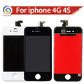 TOMORAL OEM Test AAA LCD Display for iphone 4G 4S  LCD Touch Screen Complet Digitizer Assembly Replacement Black / White