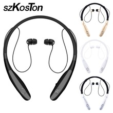 Wholesale Hot Sale Latest Wireless Bluetooth Headset Adjustable Sports Earphones Headphone with Mic Bass Earphone for Samsung for iphone