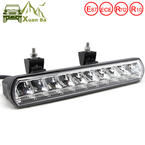 Image 1 - 12 Inch 50W Led Bar Fahren Lichter Für Lada Niva 4x4 Off road Lkw Trailer Boat SUV UTV ATV 4WD Wasserdicht 12V 24V Flutlicht