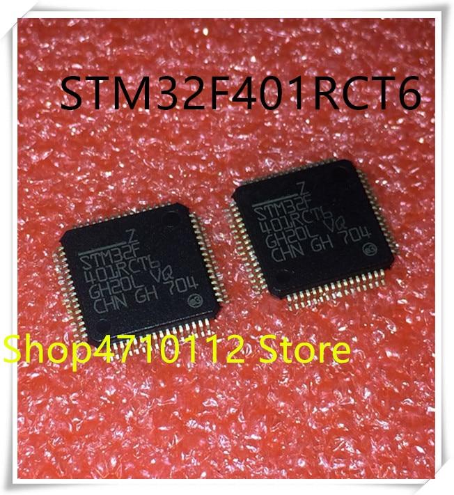 NEW 10PCS LOT STM32F401RCT6 STM32F401 RCT6 LQFP 64 IC