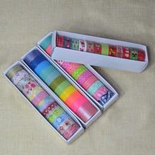 washi tape set 12 pcs school tools papeleria fita adesiva masking christmas japanese scrapbooking kawaii decorative papelaria