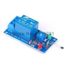10PCS Thermal Sensor Module 1 Channel 5V Relay Module Combo Module Thermistor Temperature Sensor Module for Arduino