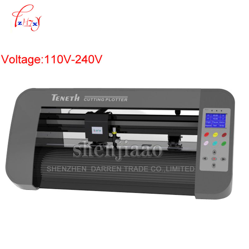 TH440LX Desktop USB vinyl plotter Cutting Plotter sticker plotter Max cutting width 330mm 110v-240v 100w 1pc недорго, оригинальная цена