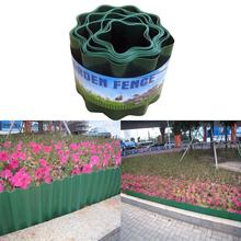 Garden Lawn Plastic Flexible Fence Path for Flower Bed Grass Wall Edge Border Protect Curb Yard Edging Accessary