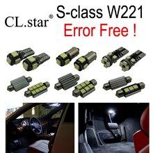 26 pcs sans Erreur LED Ampoule Intérieur Lumière Kit pour Mercedes pour Mercedes-Benz classe S W221 S300 S350 S400 S500 S550 S600 (2006 +)