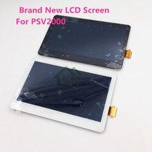 E   house ใหม่จอ LCD หน้าจอ LCD เปลี่ยนเลนส์สำหรับ PS Vita 2000 Slim สำหรับ PSV2000 หน้าจอ LCD ไม่มีกรอบ