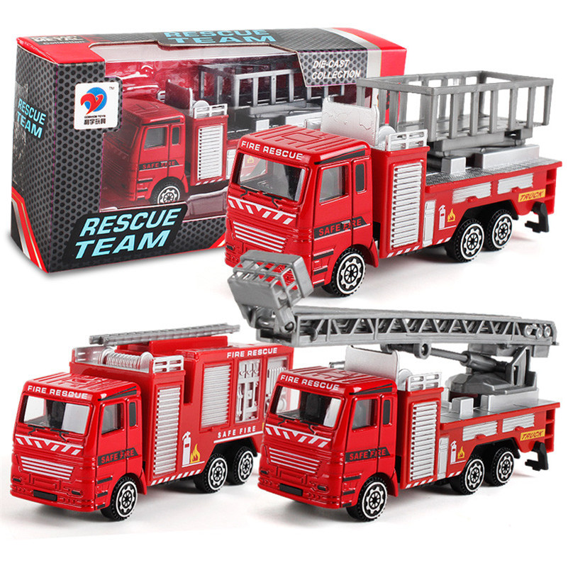 Reliable Spray Water Truck Toy Fireman Fire Truck Car Music Light Educational Toys Boy Kids Toy Gift Elegant In Style Toys & Hobbies