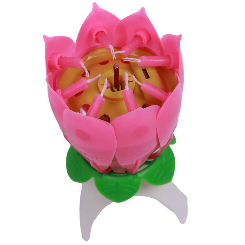 2017 hot 1pclot birthday candle blossom lotus flower candles party 2017 hot 1pclot birthday candle blossom lotus flower candles party cake music sparkle cake topper candle qb670976 in candles from home garden on mightylinksfo