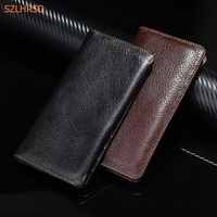 100 Genuine Cow Leather Phone Case Hand Card Wallet Pouch For Xiaomi Redmi Note 4x Mi