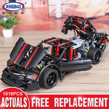 XingBao 07003 Block 1916Pcs Creative MOC Technic Series The Assassin X19 Set Educational Building Blocks Bricks Toy Gifts lepin 20055 1180pcs technic mechanical series the rescue vehicle set 42068 children educational building blocks bricks toy gift