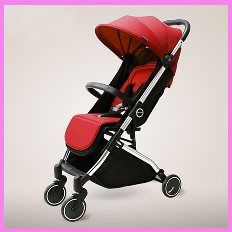 Traveling Car Trolley Umbrella Ultra Light Portable Baby Stroller  Foldable Baby Stroller Shock Resistant Baby Carrier baby stroller ultra light portable shock absorbers bb child summer baby hadnd car umbrella
