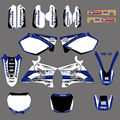 0007 New Style TEAM GRAPHICS&BACKGROUNDS DECALS STICKERS Kits for Yamaha YZ125 YZ250 2002 03 04 05 06 07 08 2009 2010 11 2012