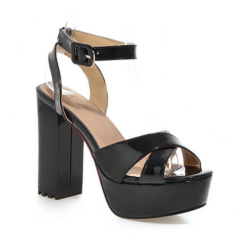 Buy women 39 s high heel sandals sexy for Platform shoes with fish