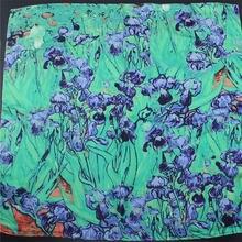 Ван Гог Картина маслом 55 см квадратный шарф женский бандана