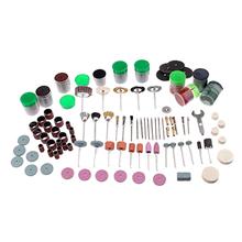 купить 262Pcs Dremel Accessories Rotary Tool Accessory Set for Cutting Grinding Wheel Sanding Disc Polishing Pad 1/8 Inch Shank дешево