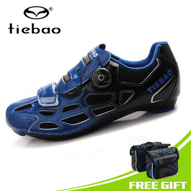 Sport & Unterhaltung Original Tiebao Road Radfahren Schuhe 2018 Auto-lock Fahrrad Sport Schuhe Herren Pu & Mesh Atmungs Rennrad Schuhe Für Männer Turnschuhe Frauen Fabriken Und Minen Fahrradschuhe