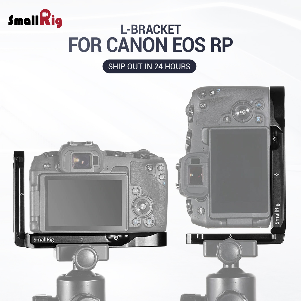 SmallRig L Bracket for Canon EOS RP L Plate Feature With Arca Style Quick Release Plate