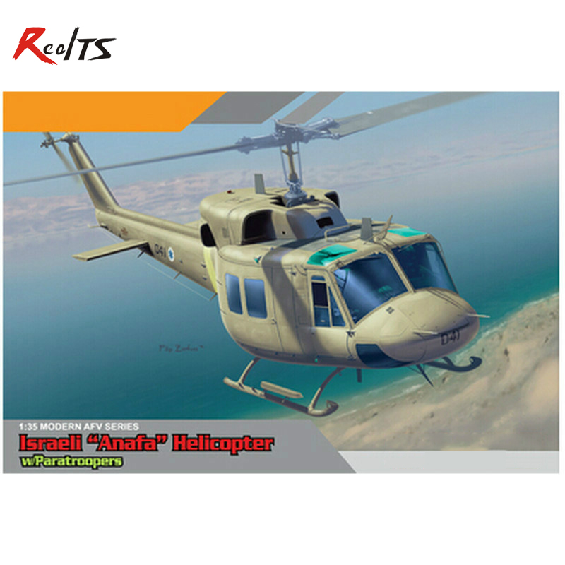 RealTS Dragon model 3543 1 35 scale AFV Series Israeli Anafa Helicopter w Paratroopers