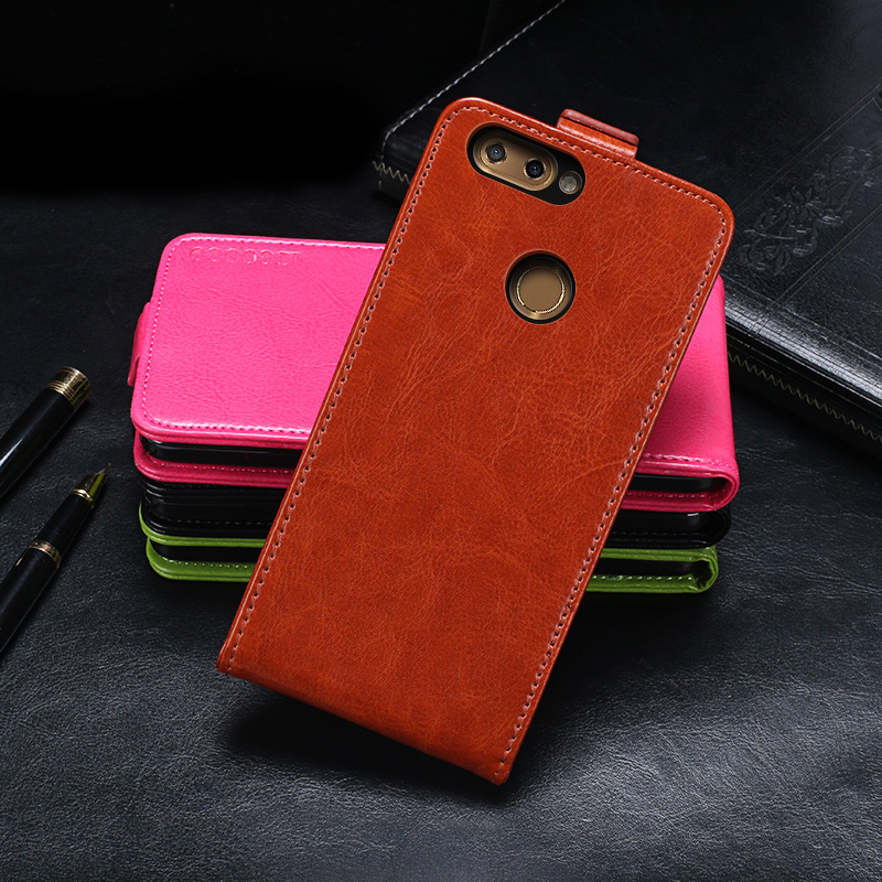 ZTE Blade V9 Case Cover Luxury Leather Flip Case For ZTE Blade V9 Protective Phone Case Back Cover