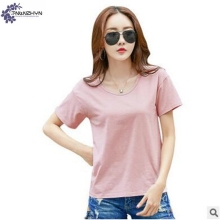 TNLNZHYN summer new Women clothing T-shirt  2017  fashion slim  Round collar short-sleeved casual female tops T-shirt TT495