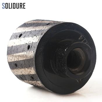 2 inch Segmented and Resin-Filled  Diamond Drum Wheel  M14 Thread Zero Tolerance Wheels For Granite Marble Hole Grinding Wheel