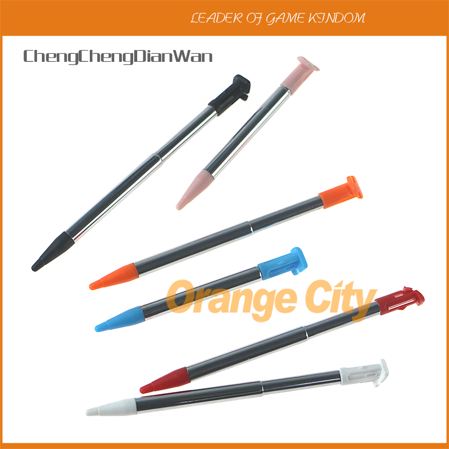Mteal Plastic Retractable Stylus Pen Screen Touch Pen For Nintendo New 2DSXL 2DSLL NEW 2DS XL LL Game Console ChengChengDianWan