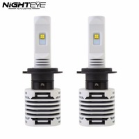 High Quality 2XNighteye High Power 80W LED H7 12000LM Car Headlight Kit Fog Lamps Bulb 6000K