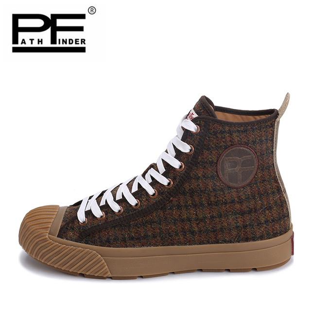 Men's Vulcanize High Style Shoe