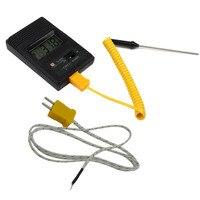 TM-902C (-50C до 750C) измеритель температуры TM902C цифровой K Тип датчик температуры + детектор датчик термопары иглы