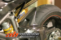 Hugger для Ducati 848 1198 1098 полный углеродного волокна 100% твил