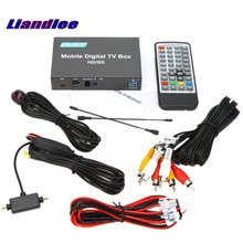 Liandlee Car Digital TV DVB-T Receiver D-TV Mobile HD Turner Box 1 Signal Antenna Suitable For Driving / Model DVB-T237