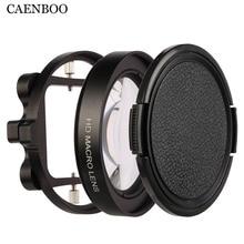 CAENBOOการกระทำกล้องกรองไปโปรฮีโร่3 4 C Lose UpวงกลมกรองGopro Hero5มาโครแว่นขยายเลนส์แหวนอะแดปเตอร์สีดำ