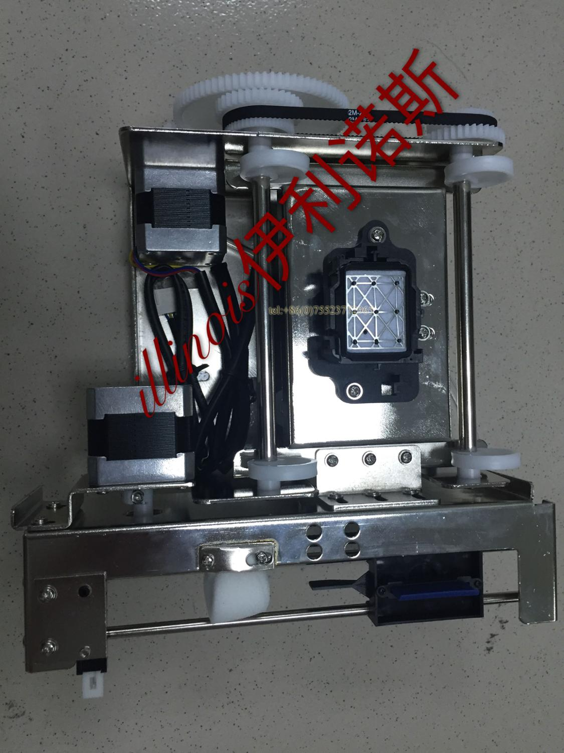 DX5 Print Head Assembly Printer Ink Pump Assembly,Single Printhead,Black,FORTUNR-LIT/ALLWIN/XENONS/GALAXY/ZHONGYE printer parts hot sale single dx5 ink pump assembly for flora versacamm leopard large format printer machine