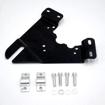 Крепежный кронштейн для электродвигателя аксессуары для электровелосипеда установка железного подключения двигателя к велосипедной монт...