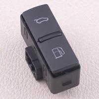 DWCX Black Trunk Boot Lid Fuel Flap Unlock Release Switch Button 4L1 959 833 4L19598335PR Fit for Audi Q7 2007 2008 2009