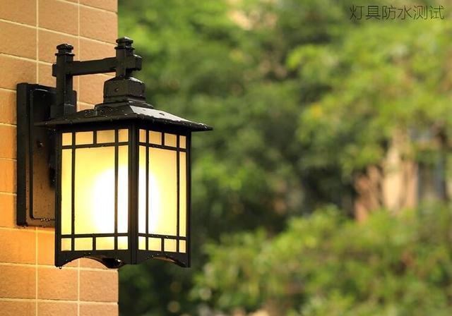 Stile cinese muro royal lanterna lampada da esterno giardino