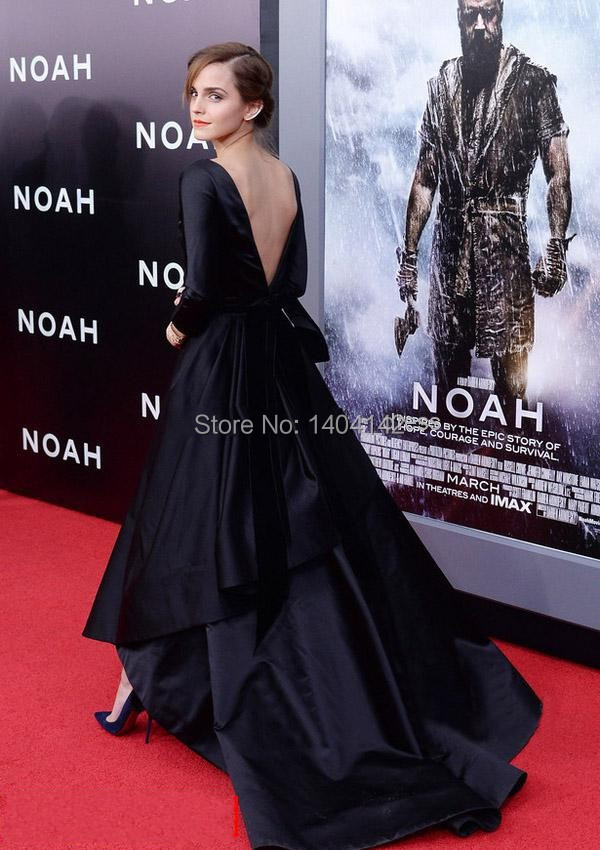 Long Sleeve Celebrity Dresses