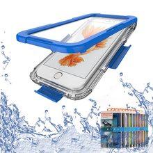 Новое Поступление Водонепроницаемый Плавание Дайвинг Чехол Капа для Iphone 7 4.7 Iphone 7 Plus 5.5 Корпусов Мобильных Телефонов Fundas
