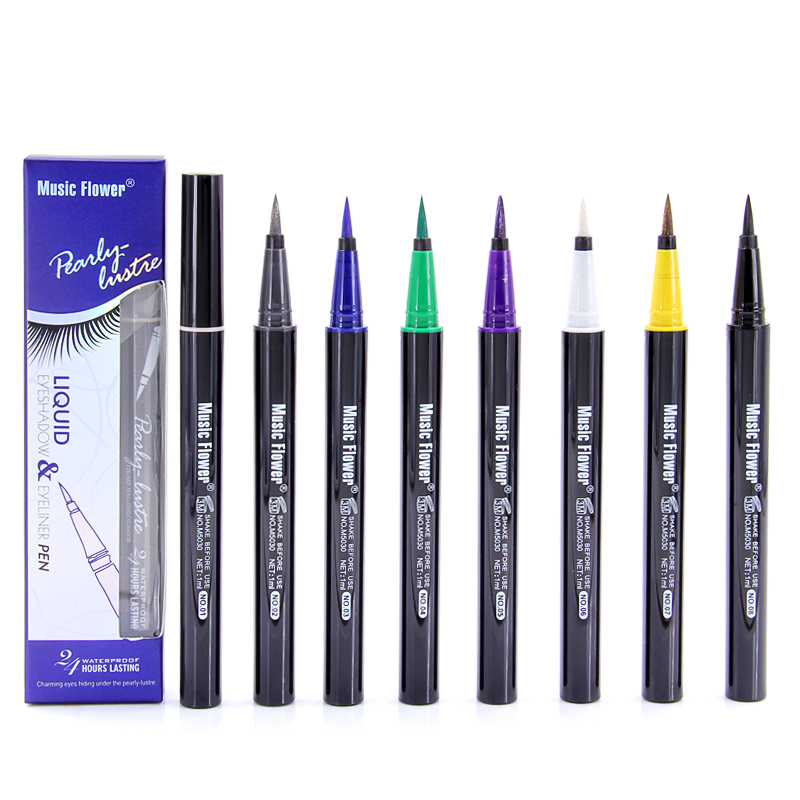 Dropshipping Music Flower Waterproof Liquid Pearly Eye Shadow & Liner Mixture Pen Anti-sweat Magnificence Comestics Longlasting Eye Shadow & Liner Mixture, Low cost Eye Shadow & Liner Mixture, Dropshipping...