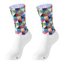 Sport-Socks Leg-Support Compressprint Outdoor Snowboard Knee Stretch Unisex