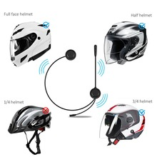 300m Bluetooth Motorcycle Helmet Wireless Headset Radio Without Intercom Skiing Communication Motor for Two Riders