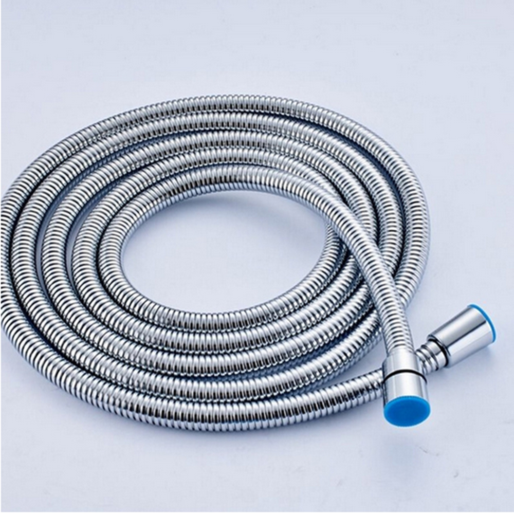 Uythner Free Shipping 2450mm Chrome Shower Hose Stainless Steel ...